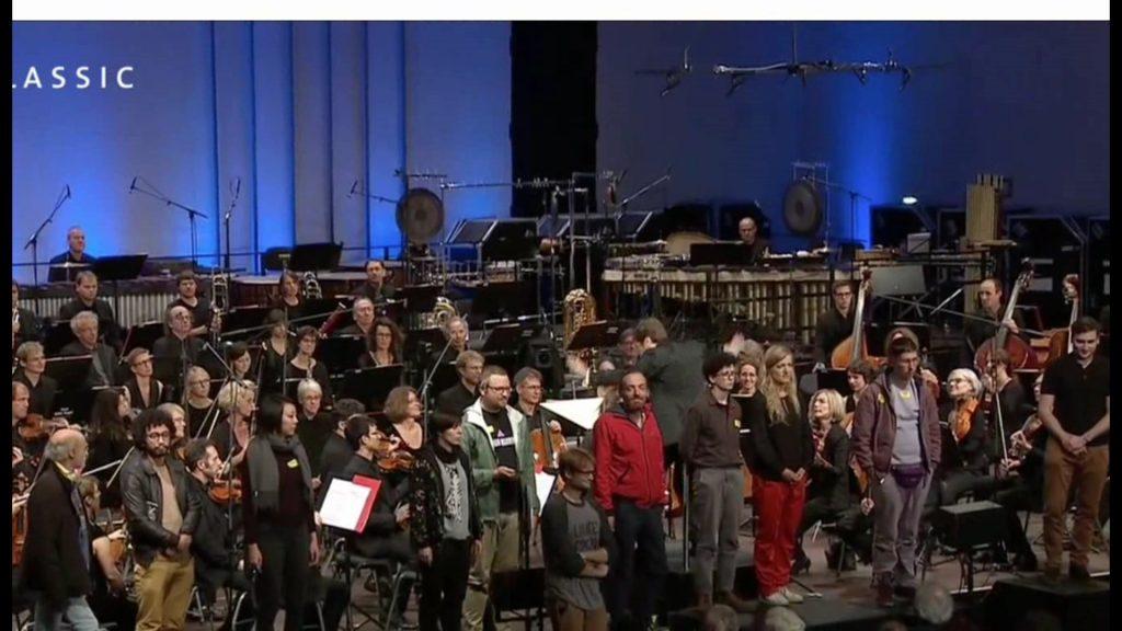 l'école de la claque on stage@donaueschinger musiktage